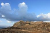 The landscape of Alegranza
