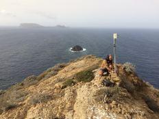 Montaña Clara antena 2