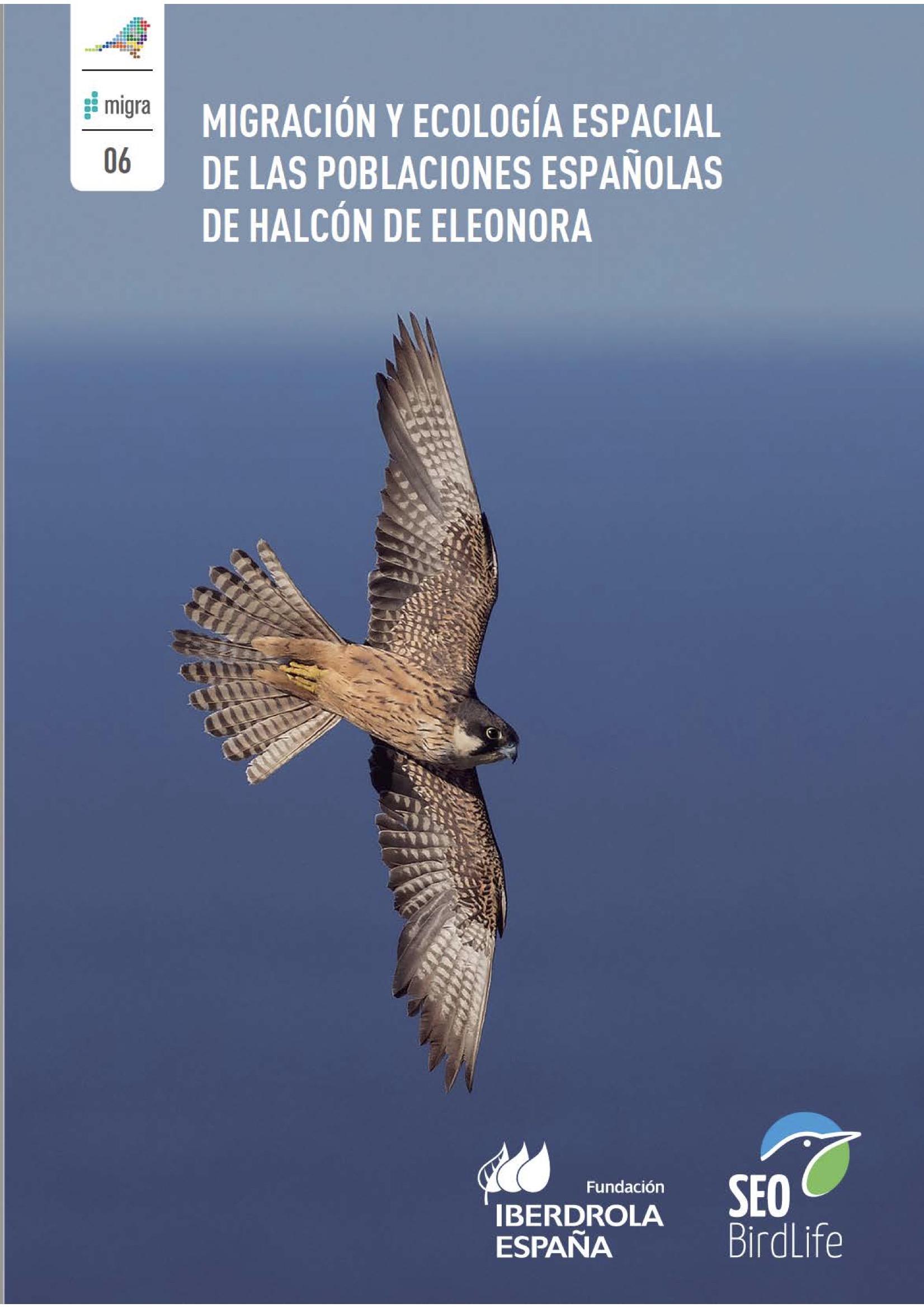 Migración y ecología espacial de las poblaciones españolas de halcón de Eleonora